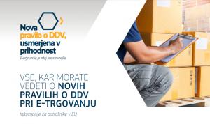 Nova pravila o DDV pri e-trgovanju