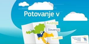 Potovanje v Avstrijo, Slovenijo, Hrvaško