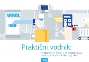 Praktični vodnik: Pristojnost in pravo, ki se uporablja za mednarodne potrošniške pogodbe