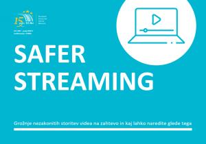 Safer Streaming - varna raba storitev videa na zahtevo
