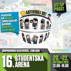 EPC Slovenija med 20. in 22. oktobrom na Študentski areni v Ljubljani